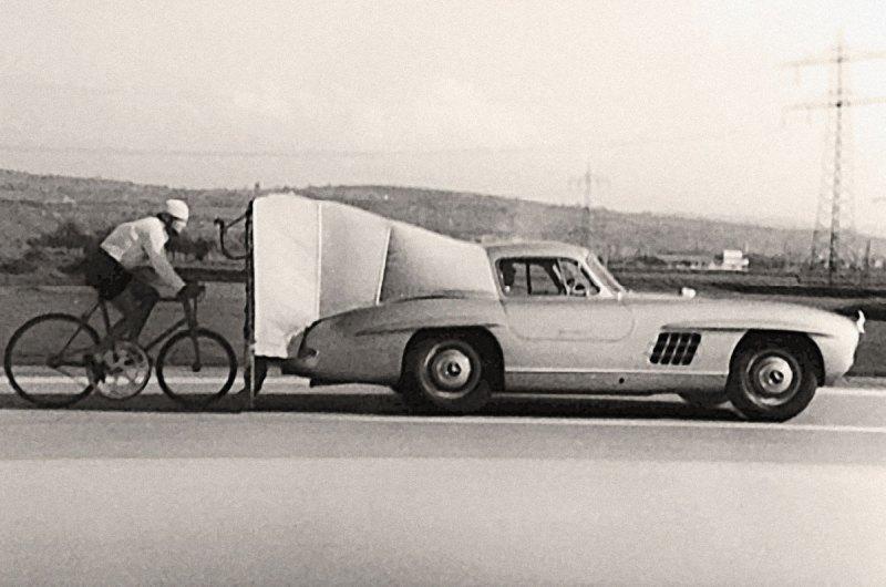 #29, Mercedes-Benz, 300 SL, Flügeltürer, Steher-Weltrekord