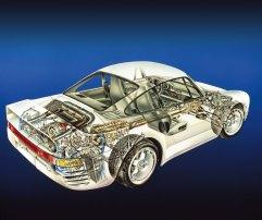 Octane Magazin Porsche 959 Porsche 959 Cut Away