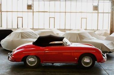 Porsche 356 Speedster stehend