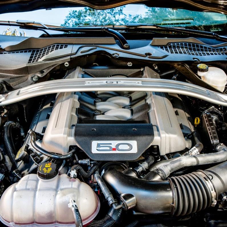 Ford Mustang V8 GT Motor