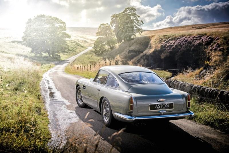 Aston Martin DB4 GT im Peak District