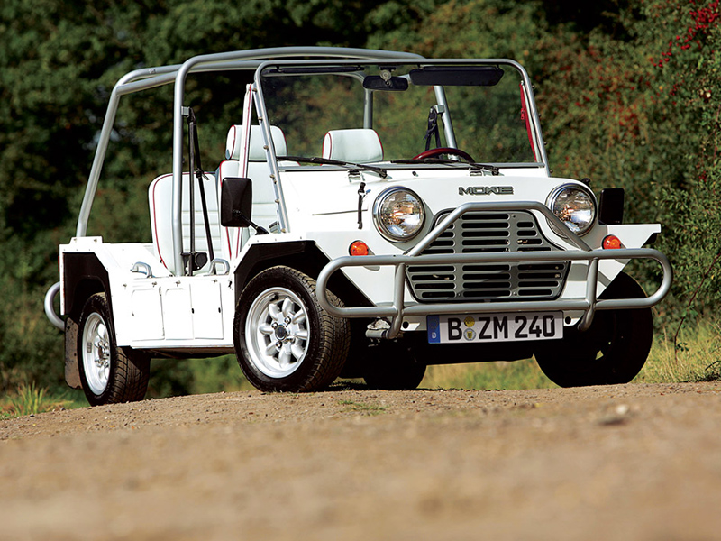 Mini Moke frontal