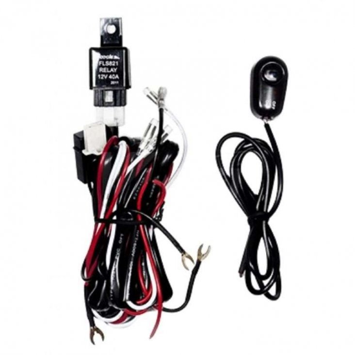 Universal Wiring Harness Include Switch Kit Car Auto Fog