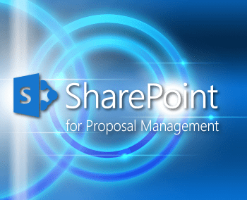 Proposal management software for Microsoft sharepoint