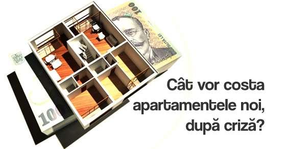 Investiții Imobiliare: Cât vor costa apartamentele noi, după criza economică?
