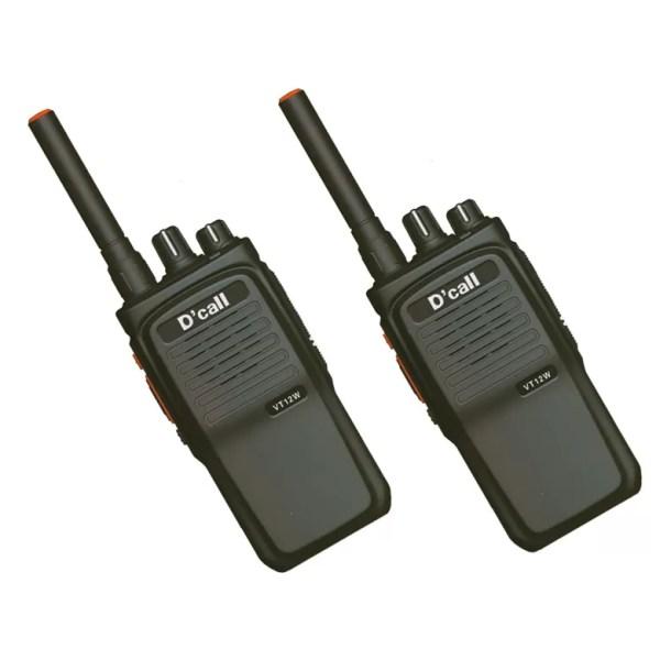 D'Call VT12W Smart IP Portable Walkie Talkie