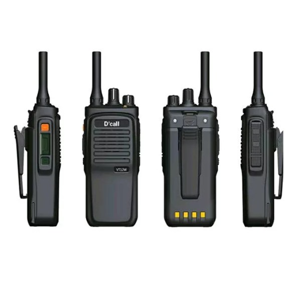D'Call VT12W Smart IP Portable Walkie Talkie
