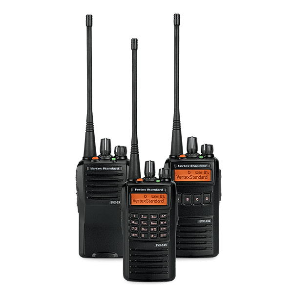Vertex Standard EVX-530 Series Digital Walkie Talkie