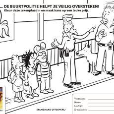 Kleurwedstrijd Buurtpolitie