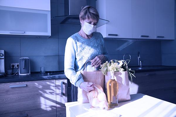 colocar la compra en casa tomando precauciones frente al coronavirus