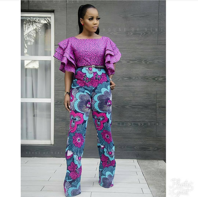 PICTURES OF 50 MOST RECENT ANKARA TRENDING STYLES
