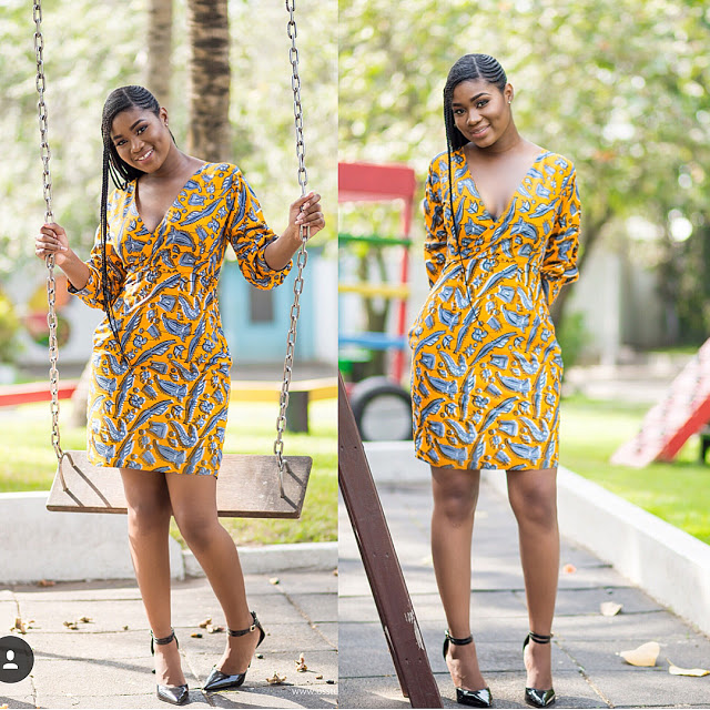 40 Latest New Ankara Short Gown Styles 2018 For Bright Ladies
