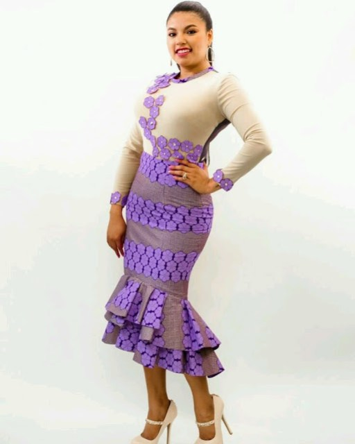 checkout these creative, unique and modern ankara dress styles - Ankarastyles2018 Od9jastyles281729 - Checkout These Creative, Unique and Modern Ankara Dress Styles