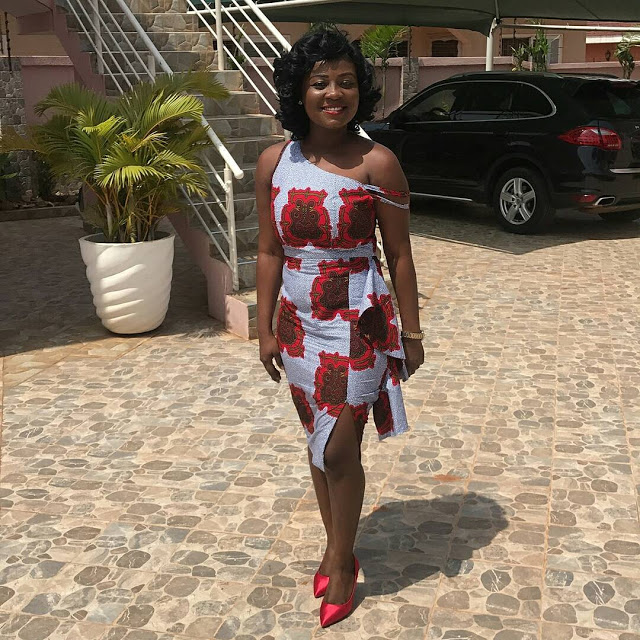 checkout these creative, unique and modern ankara dress styles - Ankarastyles2018 Od9jastyles283829 - Checkout These Creative, Unique and Modern Ankara Dress Styles