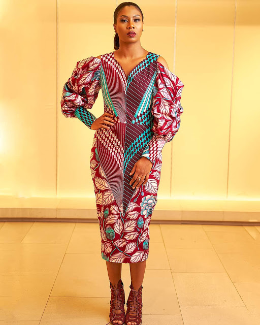 checkout these creative, unique and modern ankara dress styles - Ankarastyles2018 Od9jastyles289929 - Checkout These Creative, Unique and Modern Ankara Dress Styles