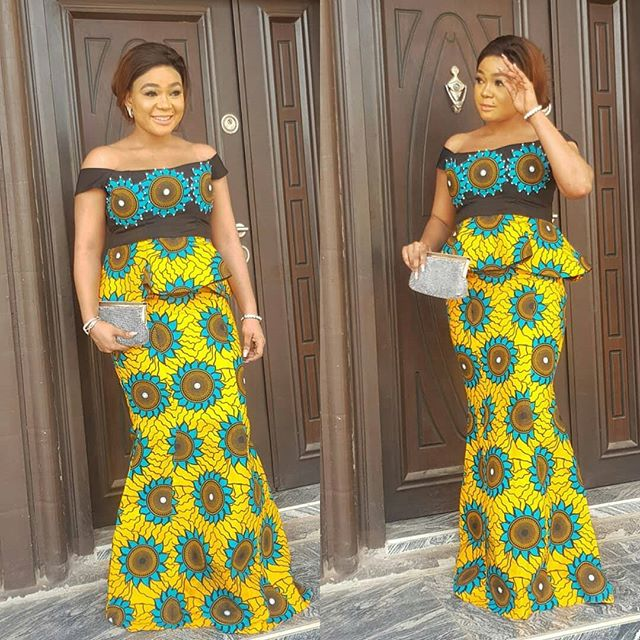 004248cb8dadf See These Pictures of Latest Ankara Peplum Styles in 2018 - Skirt and Blouse  Peplum Tops