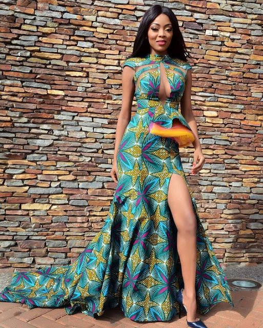 check out these unique long ankara styles for beautiful ladies 2018 - {Od9ja Styles} - Check Out These Unique Long Ankara Styles For Beautiful Ladies 2018