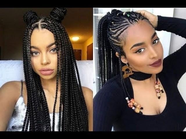 2018 Latest Braided Hairstyles