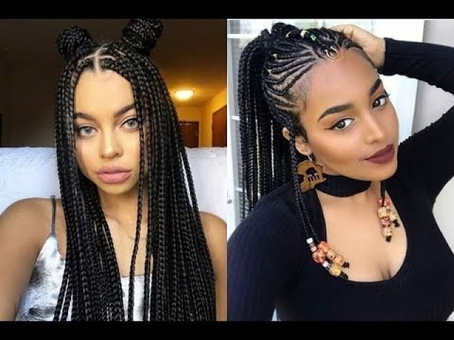 2018 Latest Braided Hairstyles
