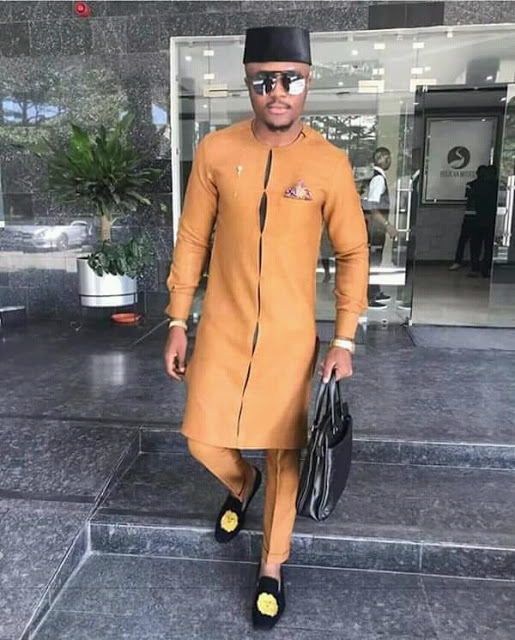 Latest 2019  African Cute Dress Styles For Men