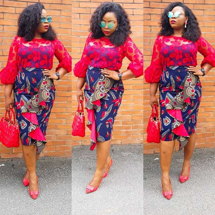 2019 Pictures Of Simple Short Gown Ankara Styles