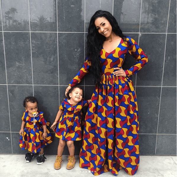 cute and stunning kids-parents fashion twinning styles look-book - Ankara - Cute and Stunning Kids-Parents Fashion Twinning Styles Look-book