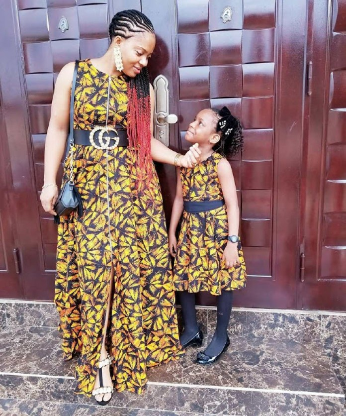 cute and stunning kids-parents fashion twinning styles look-book - twinning 40stylebywendys od9jastyles - Cute and Stunning Kids-Parents Fashion Twinning Styles Look-book