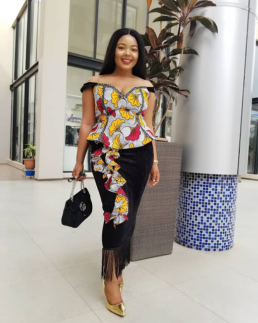Nigerian Ankara Skirt And Blouse Styles 2018 21th Wearing