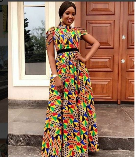 see these latest collection of ankara gown styles for cute ladies - Ankara 2 - SEE THESE LATEST COLLECTION OF ANKARA GOWN STYLES FOR CUTE LADIES