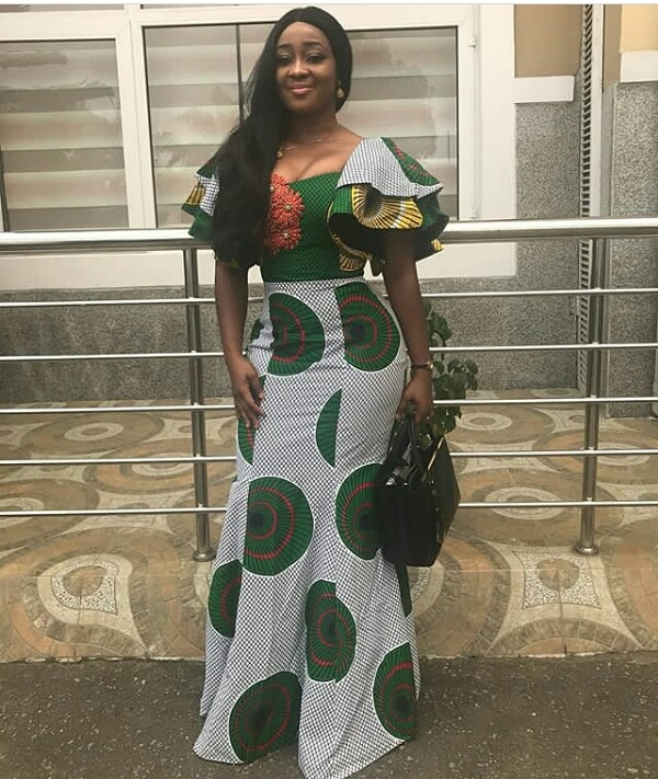 see these latest collection of ankara gown styles for cute ladies - Ankara Styles 2018 Ankara Skirt and Blouse Ankara Tops Gowns skirt blouse Trouser Style Ankara Aso ebi Tops Many More African Print Fashion 26 - SEE THESE LATEST COLLECTION OF ANKARA GOWN STYLES FOR CUTE LADIES