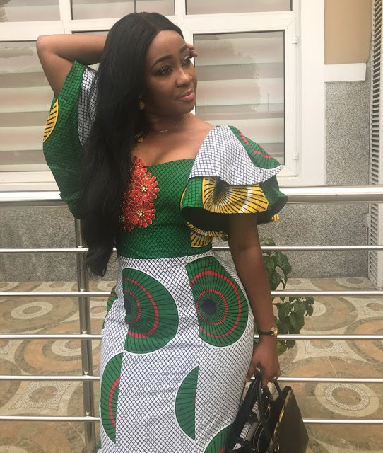 see these latest collection of ankara gown styles for cute ladies - Ankara Styles 2018 Ankara Skirt and Blouse Ankara Tops Gowns skirt blouse Trouser Style Ankara Aso ebi Tops Many More African Print Fashion 53 - SEE THESE LATEST COLLECTION OF ANKARA GOWN STYLES FOR CUTE LADIES