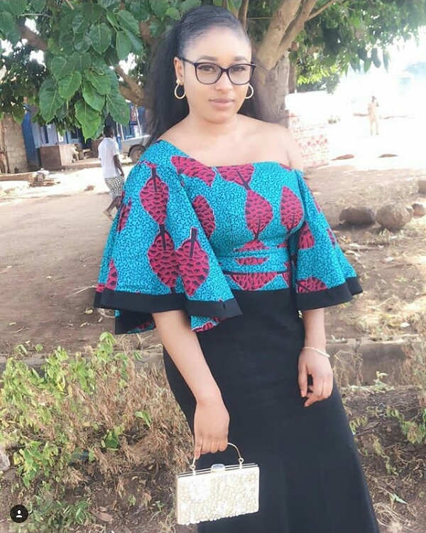 see these latest collection of ankara gown styles for cute ladies - Ankara Styles 2018 Ankara Skirt and Blouse Ankara Tops Gowns skirt blouse Trouser Style Ankara Aso ebi Tops Many More African Print Fashion 59 - SEE THESE LATEST COLLECTION OF ANKARA GOWN STYLES FOR CUTE LADIES