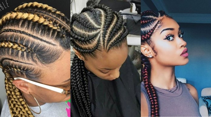 10 Ghana Weaving Hairstyles All Back Styles Bound To Make