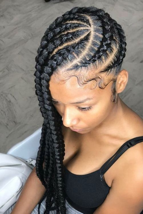 Wrapping Cornrows 20 PHOTOS: Side Cornrow Hairstyles For Special Look – Cornrow Braids