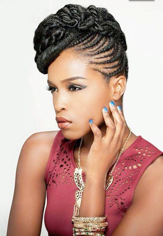 Side COrnrows for sjhort hair 20 PHOTOS: Side Cornrow Hairstyles For Special Look – Cornrow Braids
