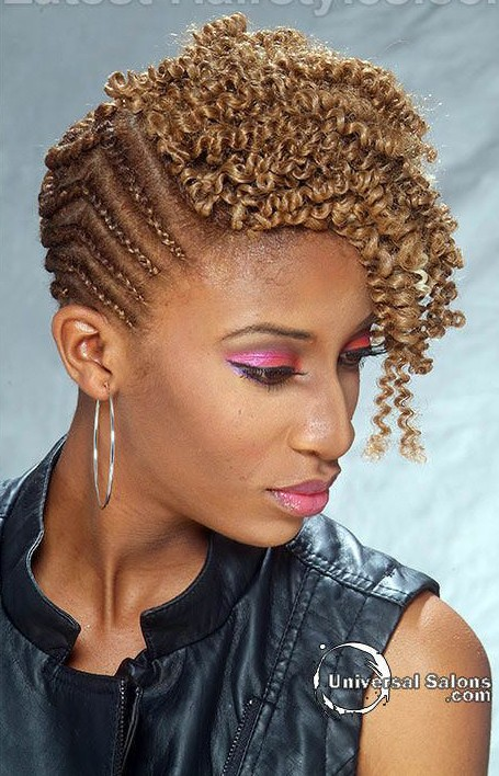 COrnrows and Curls 20 PHOTOS: Side Cornrow Hairstyles For Special Look – Cornrow Braids