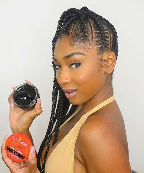 Side Cornrows and Ponytail 20 PHOTOS: Side Cornrow Hairstyles For Special Look – Cornrow Braids