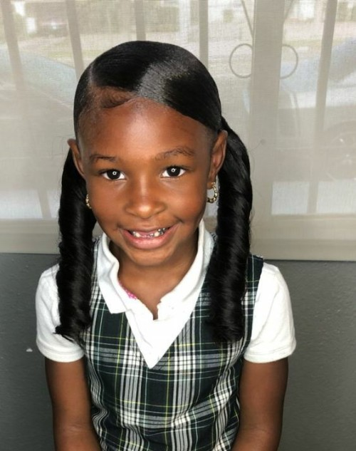Little Black girls\' 40+ Braided Hairstyles
