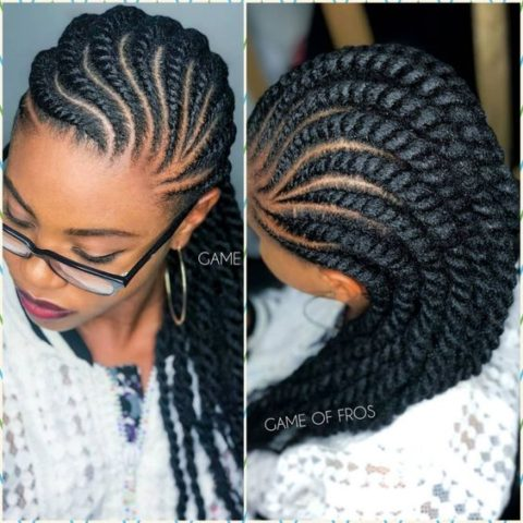 Video Recent 2019 African Braids Hairstyles Ideas for Ladies