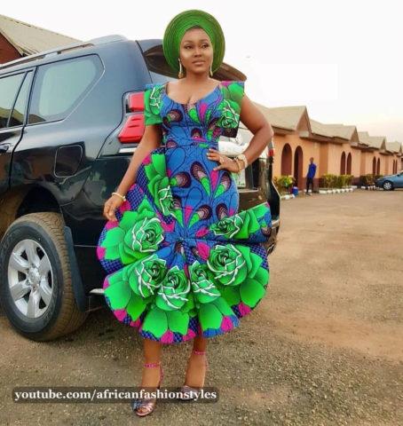 2019 Nigerian Ankara Styles Catalogue for women