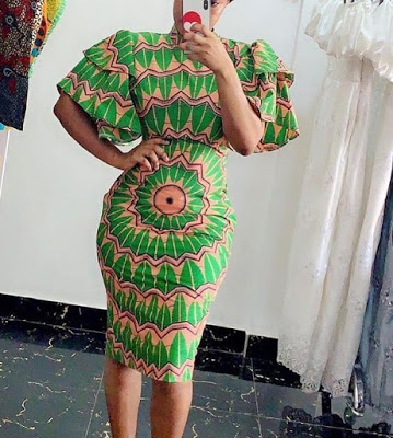 Ankara Short Gown Styles Pictures: African fashion styles - lifestyle