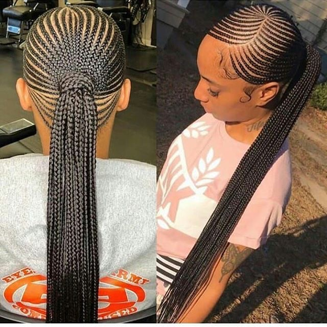 Best 2019 African Braided Hairstyles : Super Cute and Trending Braids Ideas - OD9jastyles
