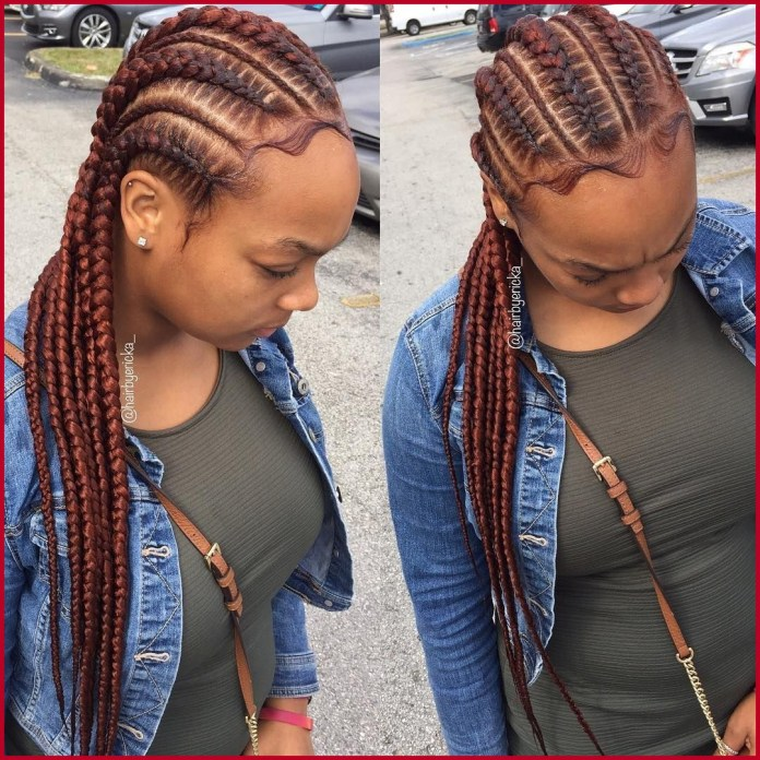 Best 2019 African Braided Hairstyles Super Cute And