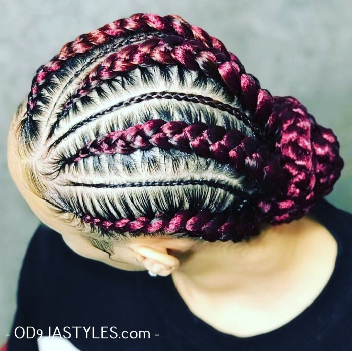 Braided Hairstyles for Black Womenn 2020 braided hairstyles for black women - braided hairstyles for black women 3 - Hottest Braided Hairstyles for Black Women: Creative African Styles for 2020