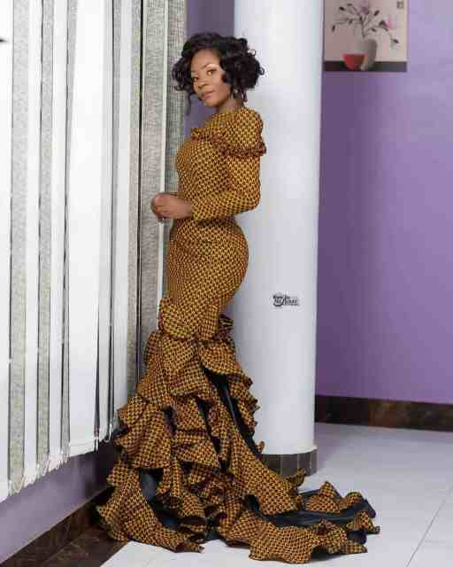 Ankara Gown Styles for Ladies ankara gown styles for ladies - Ankara Gown Styles for Ladies 2 512x640 - 50 Gorgeous Ankara Gown Styles for Ladies – Ankara Styles Pictures [2020 Trends]