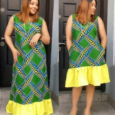 ankara latest styles - Ankara Latest Styles 10 380x380 - African Fashion: 70+ Creative, Trendy and Stylish Ankara Latest Styles