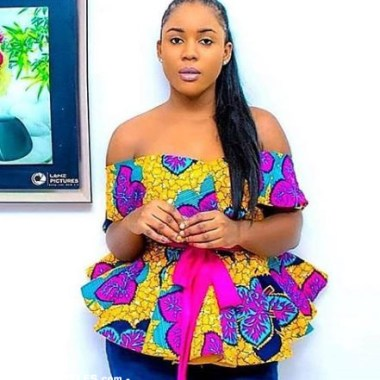ankara latest styles ankara latest styles - Ankara Latest Styles 11 380x380 - African Fashion: 70+ Creative, Trendy and Stylish Ankara Latest Styles