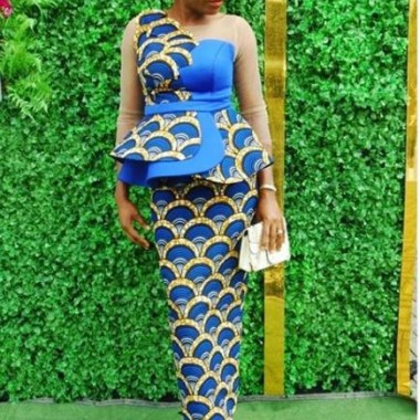 ankara latest styles ankara latest styles - Ankara Latest Styles 20 380x380 - African Fashion: 70+ Creative, Trendy and Stylish Ankara Latest Styles