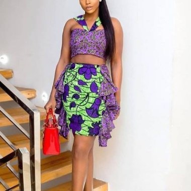 ankara latest styles ankara latest styles - Ankara Latest Styles 3 380x380 - African Fashion: 70+ Creative, Trendy and Stylish Ankara Latest Styles