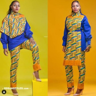ankara latest styles ankara latest styles - Ankara Latest Styles 33 380x380 - African Fashion: 70+ Creative, Trendy and Stylish Ankara Latest Styles
